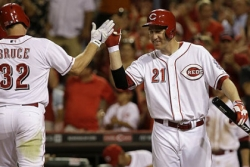 Four home runs help Reds overpower Pirates, 4-1